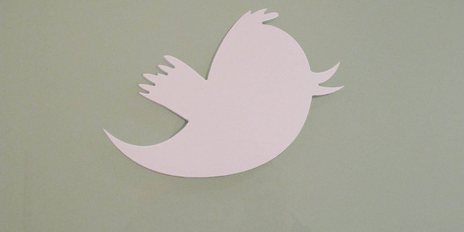 Tweeting for peace? Twitter may help to defuse sectarian tensions in Northern Ireland