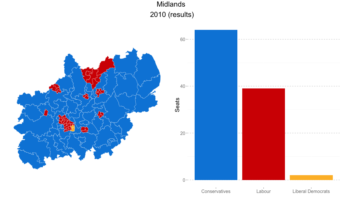 Map Of Uk Votes 2015.Focus On The Midlands British Politics And Policy At Lse