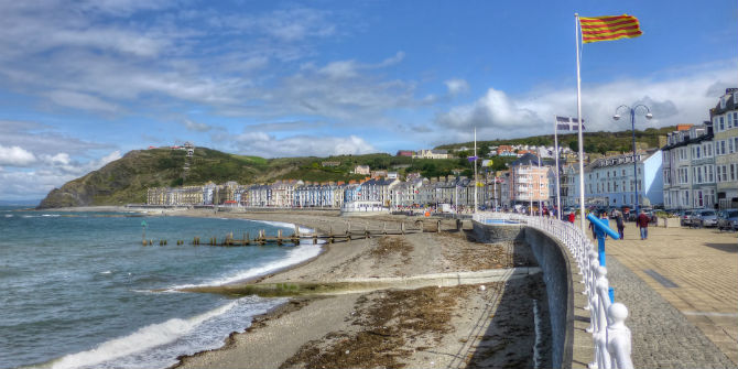 Aberystwyth et son amour: talking to locals in the UK's most Europhile town