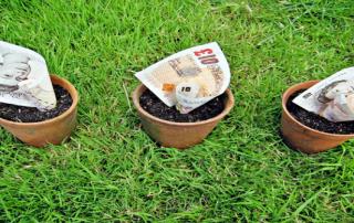 money pots