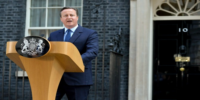 Epitaph for a political chancer: Cameron's fate exemplifies the inability of UK elites to resolve long-run crises