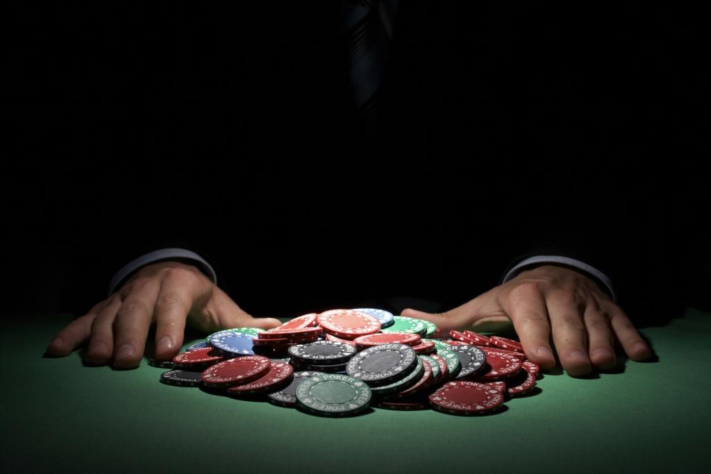 Poker chips,