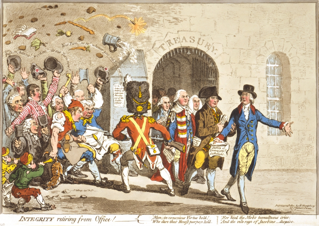 Integrity-retiring-from-Office-Gillray