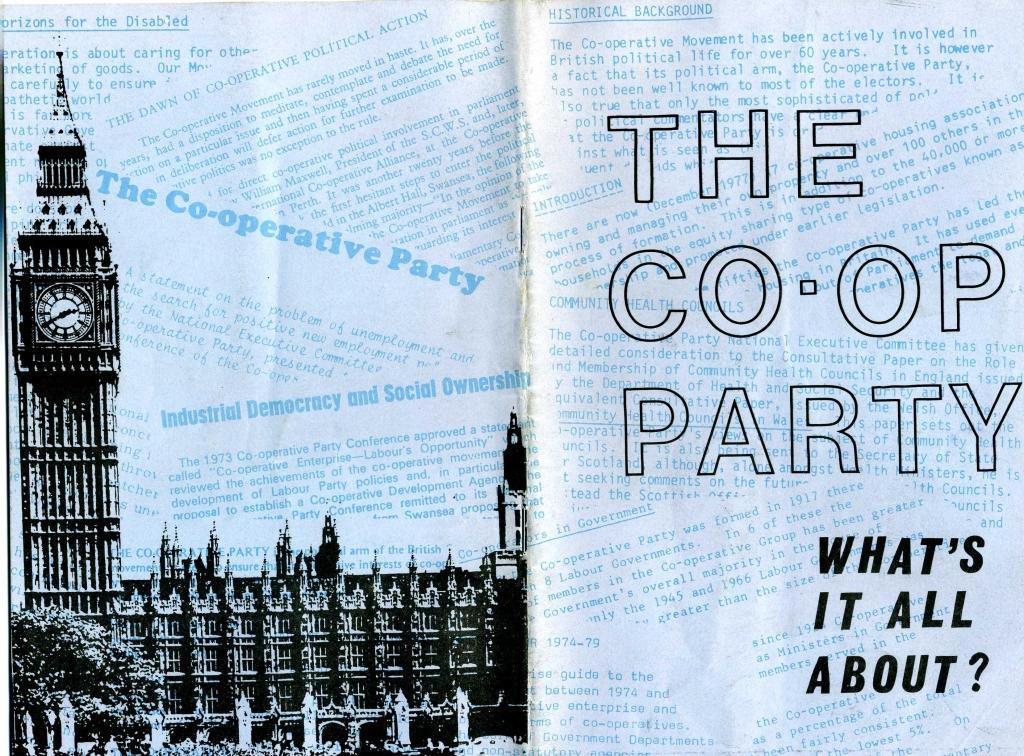 co-op party brochure
