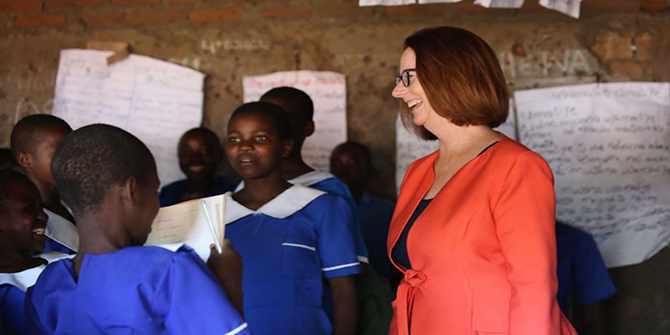 Interview with Julia Gillard: It is in everybody's interest to make sure that we are educating every child