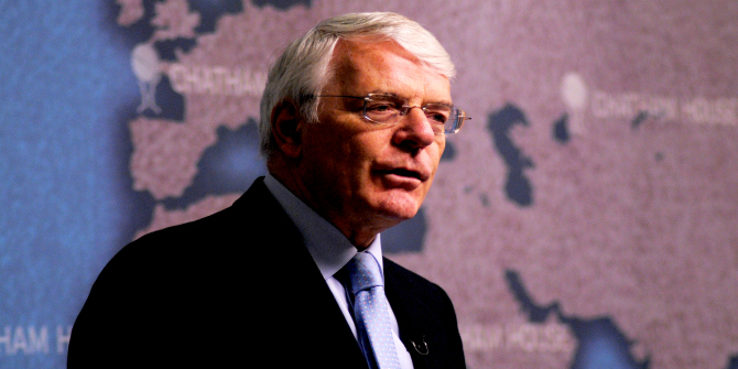 An Unsuccessful Prime Minister? Reappraising John Major