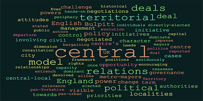 Devolution revolution? Assessing central-local relationships in England's devolution deals