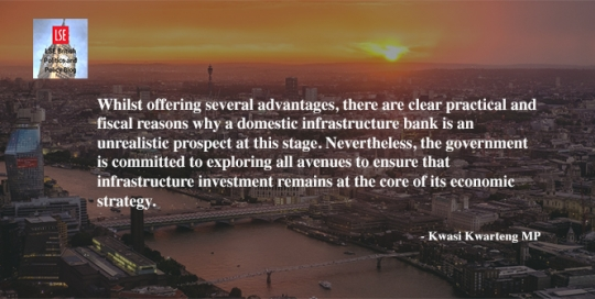 Kwasi Kwarteng: Does the UK need its own infrastructure bank?