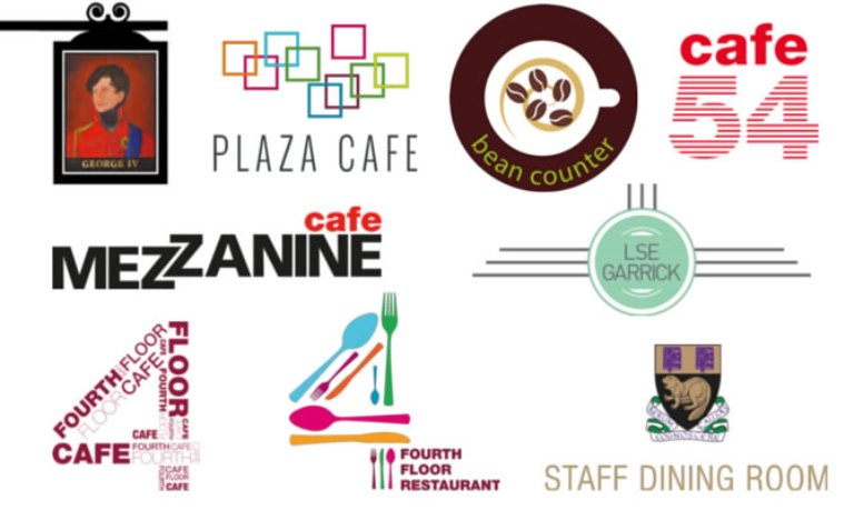 All New LSE Catering Logos
