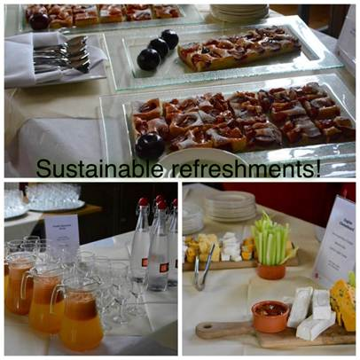 Catering sustainable refreshments