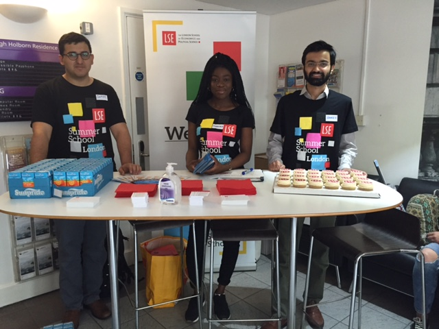Summer School Welcome at High Holborn