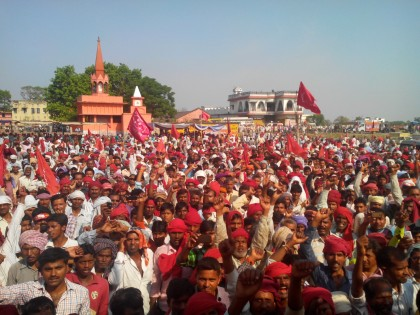 CPI(ML) rally in Mairwa, Siwan , Bihar May 2014