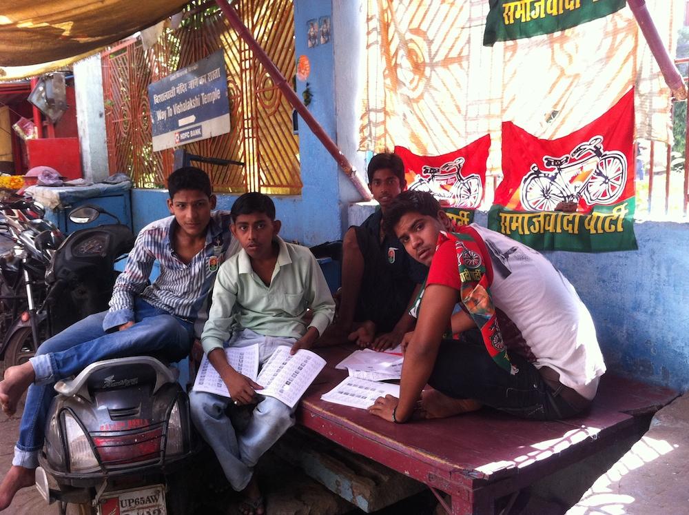 Samajwadi Party (Socialist Party) volunteers, May 12 2014