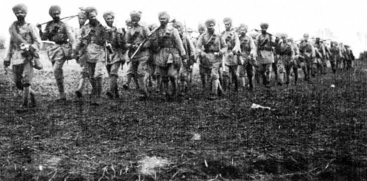 Sikh regiment after Ypres