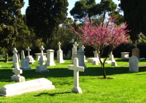 Instanbul cemetery