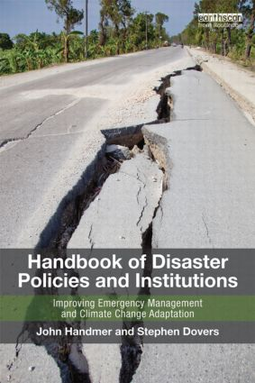 handbook of disaster policies & institutions