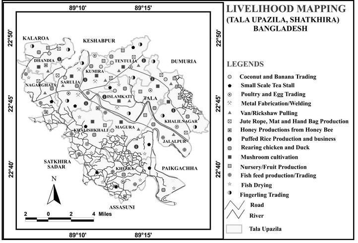 Livelihood mapping