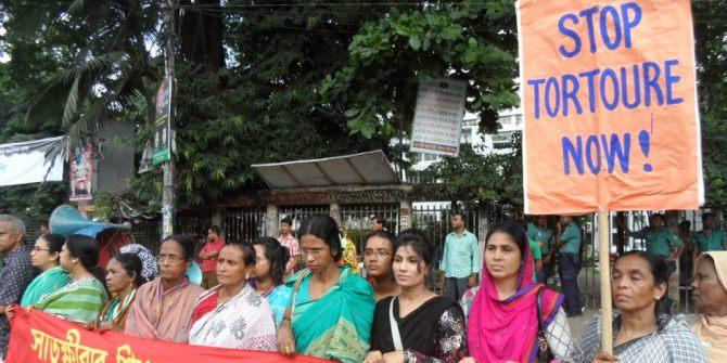 DWRN protest