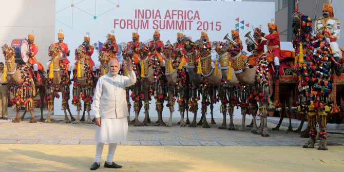 Modi at 3rd India-Africa Forum Summit
