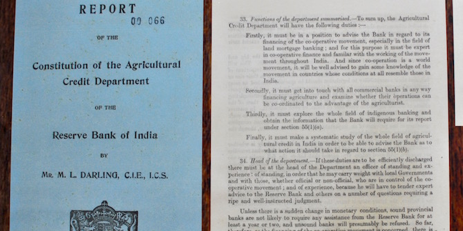 """""""The RBI archives provide a valuable resource for research scholars and others interested in India's financial history"""" – Dr R L Sahoo"""