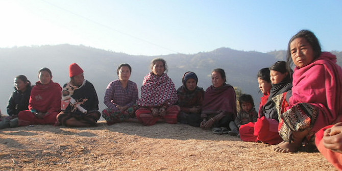 The gender dilemmas of community-based peacebuilding: a case study from post-conflict Nepal