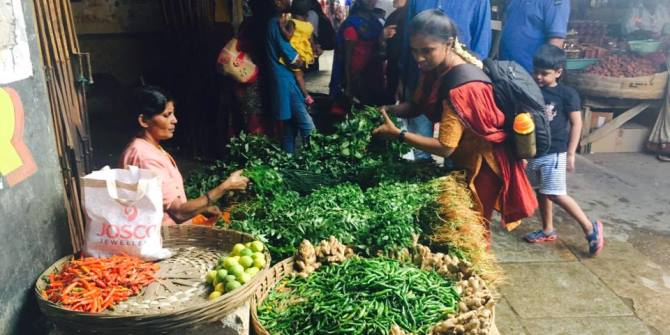 Demonetisation and information poverty: Insights from slum areas in Bangalore and Mumbai