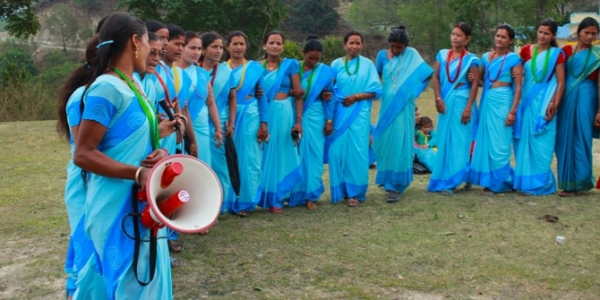 A chant and a dance on the practice of Chhaupadi in Nepal. Credit: Nyaya Health CC BY 2.0