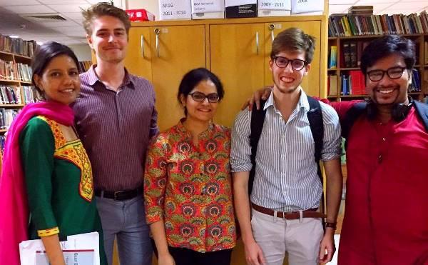 ORF interns. Credit: Alex Spalding