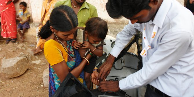 Expanding Indian public health insurance above the poverty line