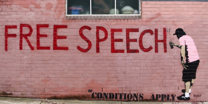 Behind the struggle against erosion of free speech is a fight over the rule of law