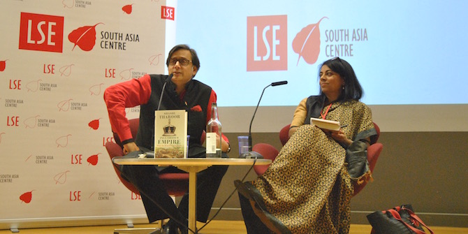 """""""To give the British credit for things that were never intended to benefit India is a mistake"""" – Shashi Tharoor"""