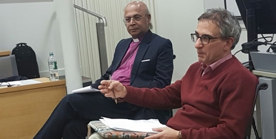 """""""What we need to acknowledge from people like Iqbal is that you can have debate within a context of familiarity and friendship"""" - Bishop Nazir-Ali"""