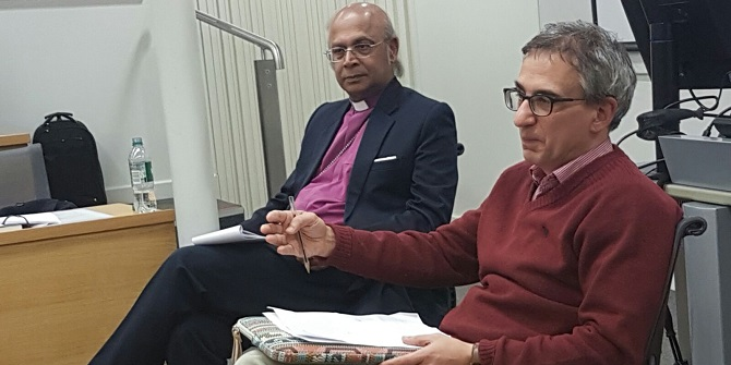 """""""What we need to acknowledge from people like Iqbal is that you can have debate within a context of familiarity and friendship"""" – Bishop Nazir-Ali"""