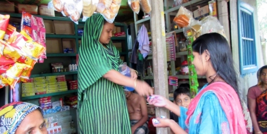 What does it take for a woman in rural Bangladesh to break out of poverty?
