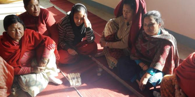 Reflections on researching women's economic empowerment in post-earthquake Kathmandu