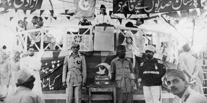 """""""At critical moments in history the balance of power favoured non-democratic forces in Pakistan, while favouring democratic forces in India"""" – Philip K Oldenburg"""