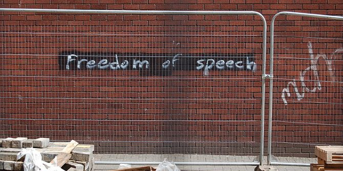 Why 'free' speech is not always 'costless'