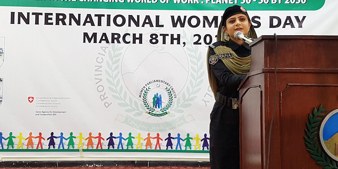 """""""Campaigns to change the law have made it part of state policy to favour women's rights and combat violence against women"""" – Hina Jilani"""