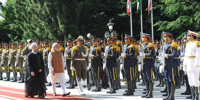 India's foreign policy in West Asia: Managing the three poles of power