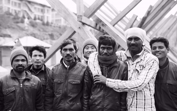 Indianlabourers,the invisible class ofBhutan