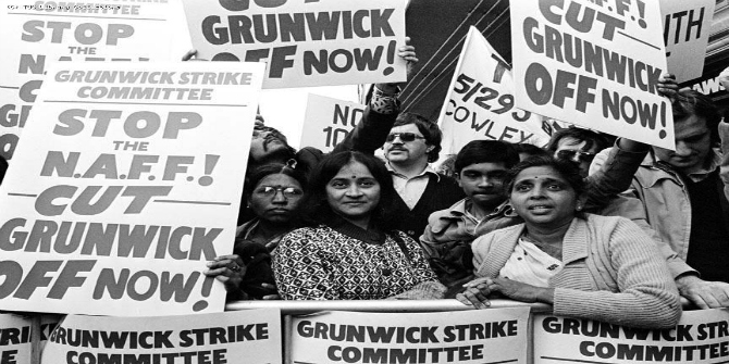 """Introducing """"Striking Women: Struggles and Strategies of South Asian Women Workers from Grunwick to Gate Gourmet"""" (Part 1)"""