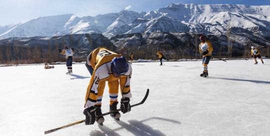 Photo essay: Hockey in the Himalayas