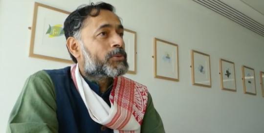 """People like me feel like the very idea of India is under challenge"" – Yogendra Yadav"