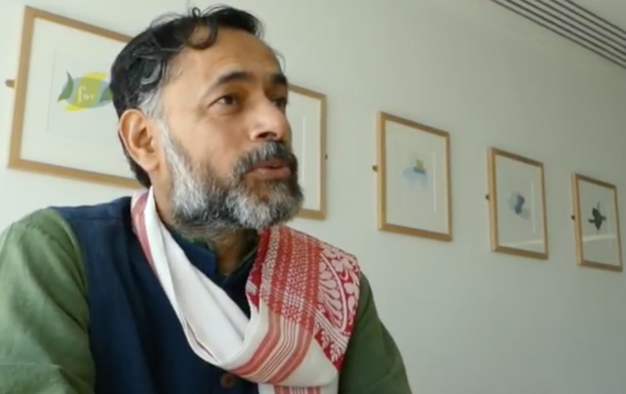 """People like me feel like the very idea of India is under challenge"" – Yogendra Yadav"