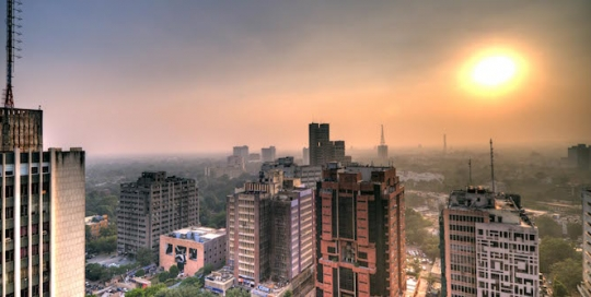 Expansion and deterioration: considering the environmental implications of the multiplier effect for New Delhi