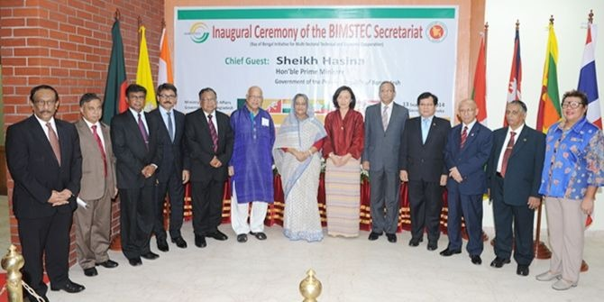 What has kept BIMSTEC from taking off?