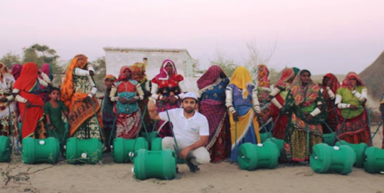 On a roll: the LSE student helping solve Pakistan's water crisis a wheel at a time