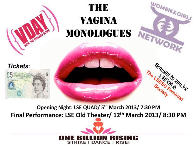 The Vagina Monoluges Event