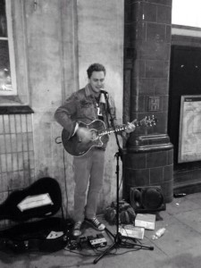 Street performer in Camden