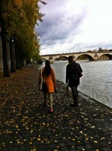 A lovely stroll along The Seine